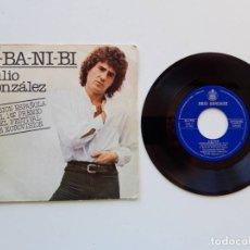 Discos de vinilo: JULIO GONZÁLEZ, A-BA-NI-BI ABANIBI. Lote 179178585