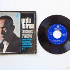 Discos de vinilo: GORDITO DE TRIANA, FANDANGOS TRIANEROS. Lote 179178608