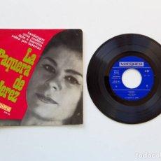 Discos de vinilo: LA PAQUERA DE JEREZ, FANDANGOS. Lote 179178620