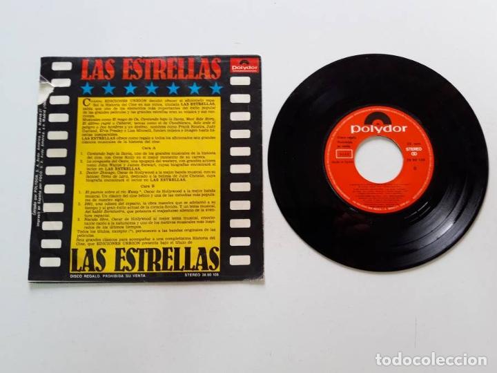 Discos de vinilo: 6 temas de cine, Cantando bajo la lluvia, La conquista del Oeste, Doctor Zhivago - Foto 2 - 179178678