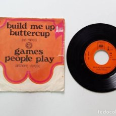 Discos de vinilo: ANTHONY SWETE, GAMES PEOPLE PLAY, BUILD ME UP BUTTERCUP. Lote 179178730