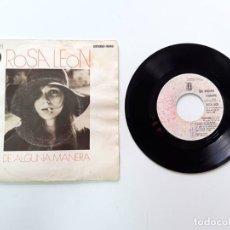 Discos de vinilo: ROSA LEÓN, DE ALGUNA MANERA. Lote 179178765