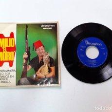 Discos de vinilo: EMILIO EL MORO, GUANTANAMERA, VUELO 502. Lote 179178778