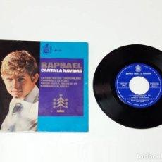 Discos de vinilo: RAPHAEL, CANTA LA NAVIDAD. Lote 179178798