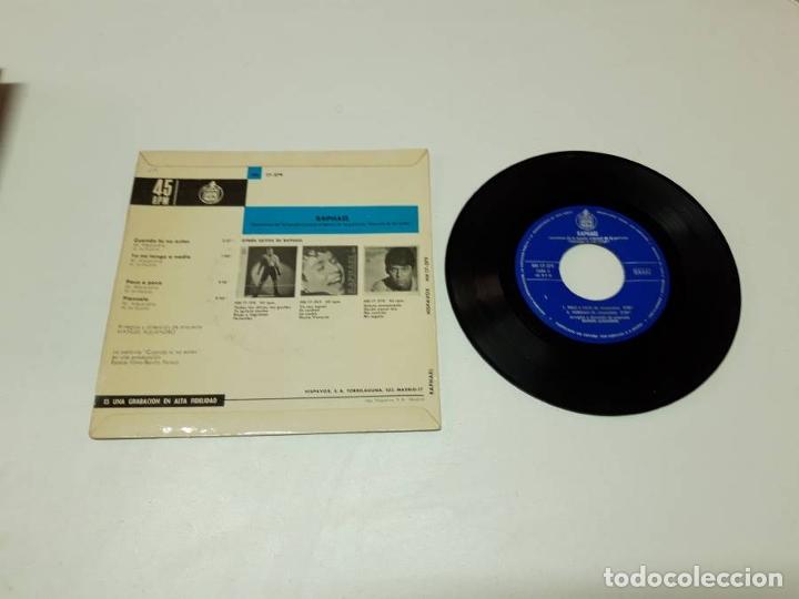 Discos de vinilo: Raphael, Cuando tú no estás - Foto 2 - 179178805