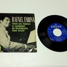 Discos de vinilo: 1962, RAFAEL FARINA TWIST DEL FARAÓN. Lote 179178810