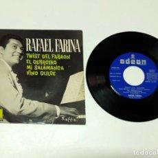 Discos de vinilo: 1962, RAFAEL FARINA TWIST DEL FARAÓN. Lote 179178815