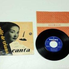 Discos de vinilo: 1966, MARIFÉ DE TRIANA, CANTA, VERSIÓN MONO. Lote 179178828