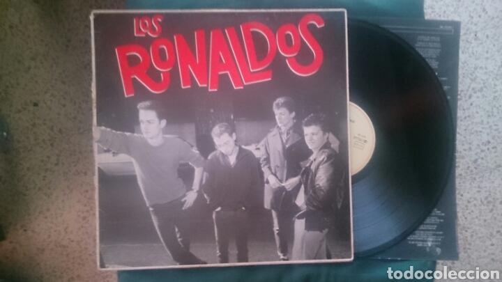 LOS RONALDOS PRIMER LP 1987 CON ENCARTE COQUE MALLA (Música - Discos - LP Vinilo - Grupos Españoles de los 70 y 80)