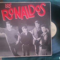 Discos de vinilo: LOS RONALDOS PRIMER LP 1987 CON ENCARTE COQUE MALLA. Lote 179178957