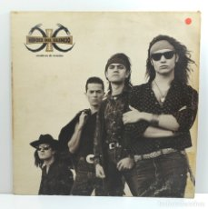 Discos de vinilo: HEROES DEL SILENCIO (LP) SENDEROS DE TRAICION AÑO 1990 – ENCARTE CON LETRAS. Lote 179179950