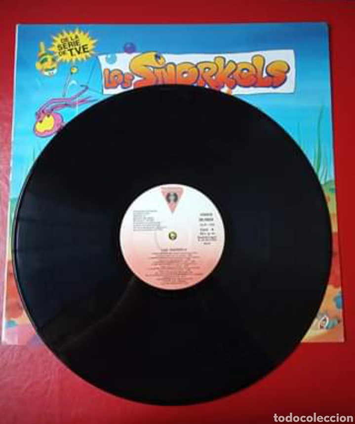 Discos de vinilo: Disco Los Snorkels Un mundo submarino. - Foto 2 - 179181210