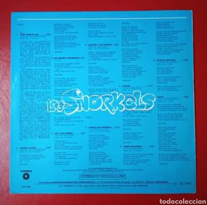 Discos de vinilo: Disco Los Snorkels Un mundo submarino. - Foto 3 - 179181210