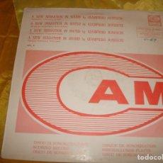 Discos de vinilo: GIAMPIERO BONESCHI. FANTASTIC, FUTURISTIC MUSIC. CAM, 1973. EDT. ITALIA. IMPEC. (#). Lote 179181261