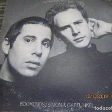 Discos de vinilo: SIMON & GARFUNKEL - BOOKENDS LP - ORIGINAL U.S.A. - COLUMBIA 1968 - 360 SOUND LABEL STEREO -. Lote 179181466