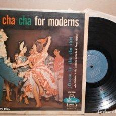 Discos de vinilo: SALSA FOR MODERNS ORQUESTA JULIO GUTIÉRREZ 1956. Lote 179185070
