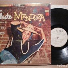 Discos de vinilo: CELESTE MENDOZA ERNESTO DUARTE BEBO VALDÉS 1961. Lote 179185691