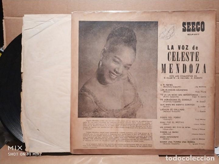 Discos de vinilo: CELESTE MENDOZA ERNESTO DUARTE BEBO VALDÉS 1961 - Foto 2 - 179185691