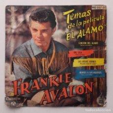 Discos de vinilo: 1961, FRANKIE AVALON, TEMAS DE EL ALAMO. Lote 179185721
