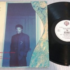 Discos de vinilo: MICHAEL JEFFRIES WITH KARYN WHITE / NOT THRU BEING WITH YOU / MAXI-SINGLE 12 INCH. Lote 179186200