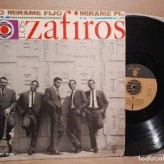 Discos de vinilo: LOS ZAFIROS MÍRAME FIJO 1965. Lote 179186681