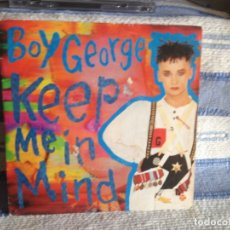 Discos de vinilo: BOY GEORGE - KEEP ME IN MIND (2 TRACKS) SINGLE DE VINILO MADE IN SPAIN 1987. Lote 179187290