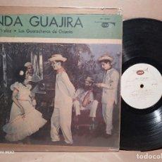 Discos de vinilo: RAMÓN VELOZ /LOS GUACHEROS /LINDA GUAJIRA. Lote 179188301