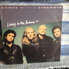 Discos de vinilo: DANCE WITH A STRANGER - LIVING IN THE FUTURE (2 TRACKS) SINGLE VINYL 1991 GERMANY. Lote 179189488