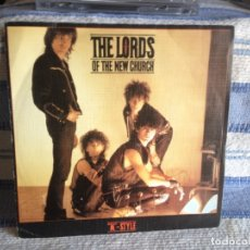 Discos de vinilo: THE LORDS OF THE NEW CHURCH - M. STYLE - SORRY FOR THE MAN (2 TRACKS) SINGLE 7' PROMO SPAIN 1984 . Lote 179190865