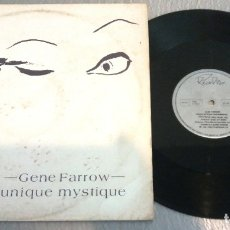 Discos de vinilo: GENE FARROW / UNIQUE MYSTIQUE / MAXI-SINGLE 12 INCH. Lote 179197165