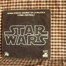 Discos de vinilo: BANDA SONORA ORIGINAL DE LA PELICULA, STAR WARS, CANTINA BAND, CENTURY, 1977.. Lote 179199462