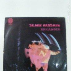 Discos de vinilo: BLACK SABBATH PARANOID ( 1971 VERTIGO ESPAÑA ) USADO CON ALGO DE RUIDO Y ALGUN SALTO. Lote 179208561