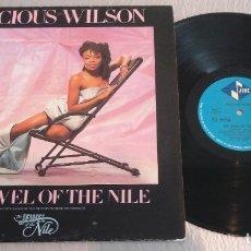 Discos de vinilo: PRECIOUS WILSON / THE JEWEL OF THE NILE / MAXI-SINGLE 12 INCH. Lote 179211341