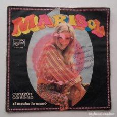 Discos de vinilo: 1968, MARISOL, CORAZÓN CONTENTO. Lote 179212807
