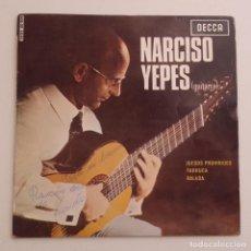 Discos de vinilo: 1965, NARCISO YEPES, JUEGOS PROHIBIDOS. Lote 179212818