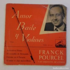 Discos de vinilo: EP. FRANCK POURCEL. AMOR, BAILE Y VIOLINES Nº 1. Lote 179212872