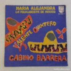 Discos de vinilo: 1968, MARIA ALEJANDRA,VALENTE QUINTERO, GABINO BARRERA. Lote 179212876