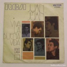 Discos de vinilo: 1971, JUAN Y JUAN, VIVA LA BUENA VIDA. Lote 179212882