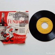 Discos de vinilo: DISCO SORPRESA FUNDADOR, EL CHOTIS. Lote 179212883
