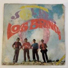 Discos de vinilo: LOS BRINCOS, SOL EN JULIO. Lote 179212887