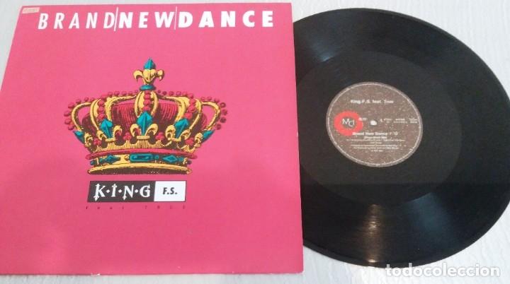 KING F.S. FEAT. TRUE / BRAND NEW DANCE / MAXI-SINGLE 12 INCH (Música - Discos de Vinilo - Maxi Singles - Techno, Trance y House)