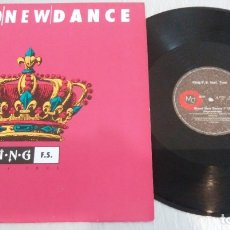 Discos de vinilo: KING F.S. FEAT. TRUE / BRAND NEW DANCE / MAXI-SINGLE 12 INCH. Lote 179213180