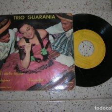 Discos de vinilo: EP ,TRIO GUARANIA ,4 CANCIONES . Lote 179214296