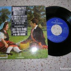 Discos de vinilo: DISCO EP DE DIAMANTINA RODRIGUEZ 4 CANCIONES ,AÑO 1970. Lote 179214347