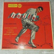 Discos de vinilo: GIANNI ALES Y SU CONJUNTO: PASSION FLOWER + 3 (RCA ESPAÑOLA 1959). Lote 179214813