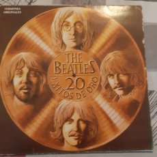 Discos de vinilo: THE BEATLES. 20 EXITOS DE ORO. ODEON. ESPAÑA 1979. C068-007.030. Lote 179215242