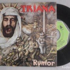 Discos de vinilo: SINGLE TRIANA RUMOR, MOVIEPLAY 1977. Lote 179215750