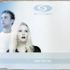 Discos de vinilo: SILVER - TURN THE TIDE - CD MAXI-SINGLE - EU 2001 - URBAN - 158575-2. Lote 179216807
