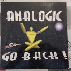 Discos de vinilo: ANALOGIC. GO BACK. BOY RECORDS.1996. ESPAÑA.. Lote 179218245