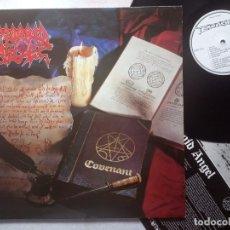 Discos de vinilo: MORBID ANGEL - COVENANT - LP CON ENCARTE UK 1993 - EARACHE. Lote 179219535